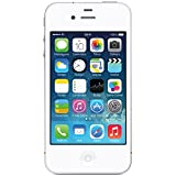 Apple iPhone 4S 8GB Unlocked GSM Cell Phone w/ Siri and iCloud – White thumbnail