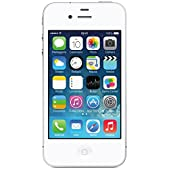Apple iPhone 4 A1332, 8GB, Unlocked, White - Used