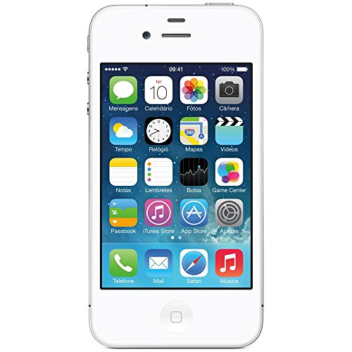 Apple iPhone 4S 8GB Unlocked GSM Cell Phone w/ Siri and iCloud – White image