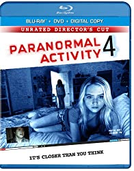 Paranormal Activity 4: Unrated Edition / Rated Version [Blu-ray + DVD + Digital Copy + UltraViolet]