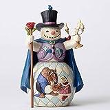 Disney Traditions Beauty & the Beast Snowman