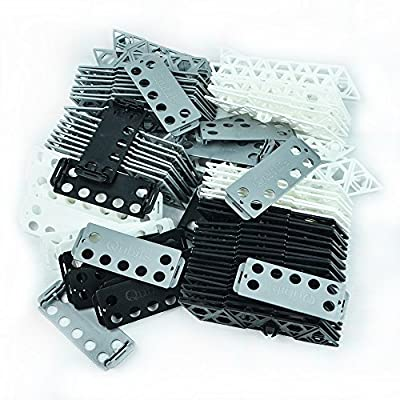 Qubits Monochromatic Kit Black, White & IRON