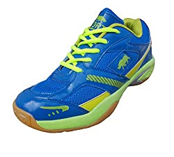 Port Mens PVC Badminton Shoes(Size 9 IND/UK)