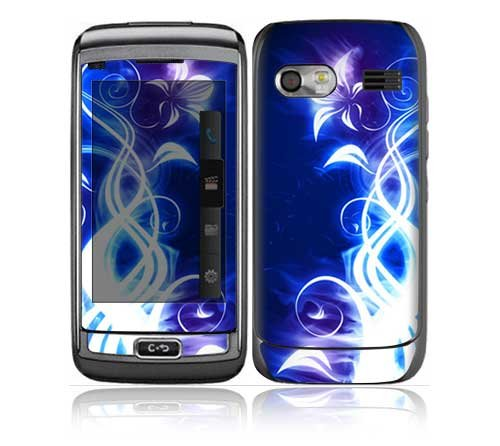 Lg Vu Plus (Gr700) Decal Skin - Electric Flower