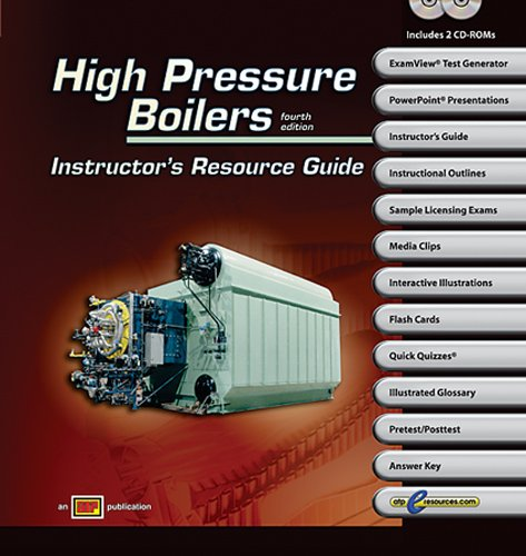 High Pressure Boilers Resource Guide w/ExamView Pro - Amer Technical Pub - AT-4311 - ISBN:082694311X