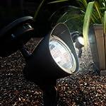White LED Solar Powered Garden Spot L...