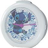 Disney (ディズニー) 目覚まし時計 スティッチWithぐるぐるスクランプ ライト付 DIA-5519-8ST スティッチ