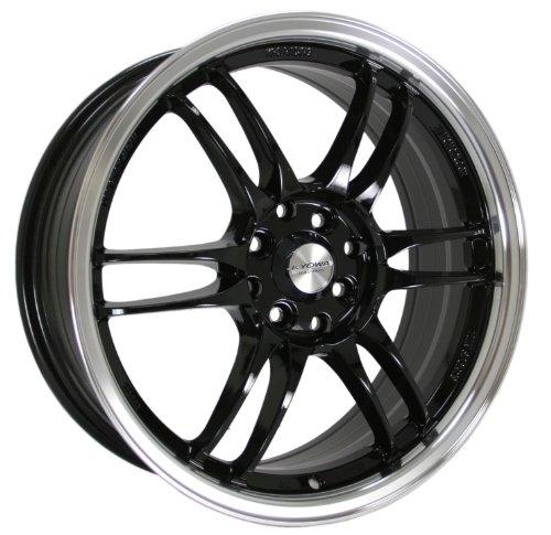Kyowa Racing Series 228 Black - 18 x 7.5 Inch Wheel