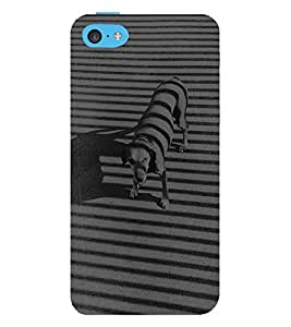 Vizagbeats Black and White Dog Back Case Cover for Apple iPhone 6S