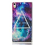 BestCool 4 in 1 Accessories Set New Stylish Colorful Star Pattern Protector Skin Hard Protector Cover Case Cover Skin Case Back Shell Mobile Phone Case Bumper Case for Huawei Ascend P6 with Dual Use Capacitive Pen and 3.5mm Crystal Rhinestones Diamond Du