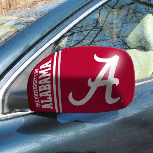 Fanmats University Of Alabama Sports Team Logo Car Trucks Small Mirror Cover Tailgating Accessory