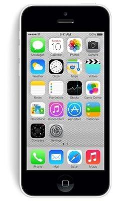 Apple iPhone 5C Smartphone (10,2 cm (4 Zoll) Retina Display, A6 Prozessor, 8 Megapixel Kamera, 32GB interne Speicher, iOS 7)