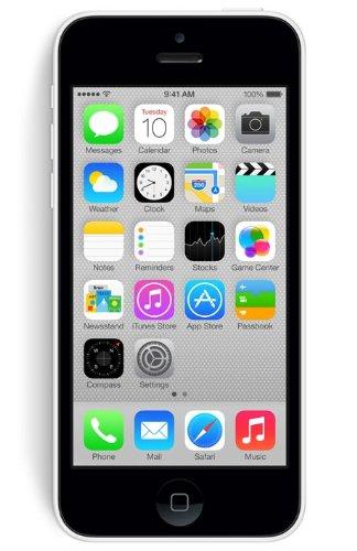 Apple iPhone 5C Smartphone (10,16cm (4pouces) Écran Retina, processeur A6, appareil photo 8Mpx, mémoire interne 32Go, iOS 7)