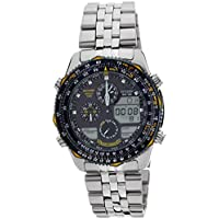 Citizen Analog-Digital Black Dial Men's Watch - JN0040-58L