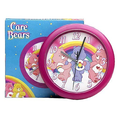 care bear wallpaper. Care Bear 8quot; Wall Clock