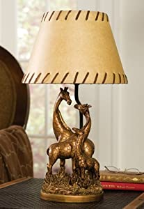 Safari Theme Bedroom Giraffe Family Table Lamp By Collections Etc