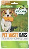 Bio Bag Premium Pet Waste Bags, Standard Size, 50 Count - Pack of 4