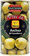 Jolca - Aceitunas Rellenas De Anchoa Del Cantábrico Lata 350 g