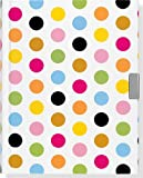 Fiesta Dots Locking Journal (Notebook, Diary) (2nd Gen Lock!) (Locking Journals)