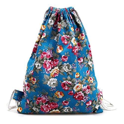 tongshi-para-mujer-floral-mochila-de-lona-de-la-manera-del-morral-del-lazo-azul-oscuro