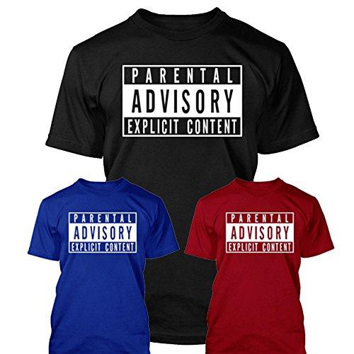 Parental Advisory T-shirt divertente regalo nero XXL