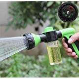 LIVDAT Garden Hose Nozzle Sprayer, Portable High Pressure Foam Car Cleaning Washer Water Soap Shampoo Washing Sprayer Gun
