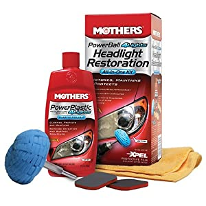 Mothers PowerBall 4Lights Headlight Restoration Kit by MOTHERS