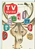 1957 TV Guide Dec 21 Merry Christmas - Kansas City Edition NO MAILING LABEL Excellent (5 out of 10) Lightly Used by Mickeys Pubs