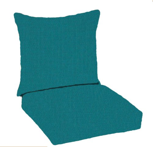 Paradise cushions indoor outdoor deep seating pillow back with hinged seat peacock furniture - Hinged outdoor cushions ...