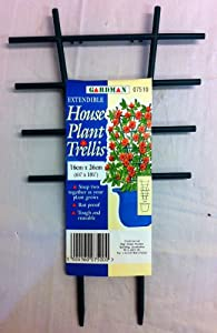 HOUSE POTTED PLANT TRELLIS. EXTENDABLE. ROT PROOF TOUGH REUSABLE. SNAPS TOGETHER