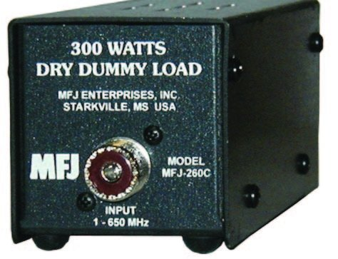 300W Dummy Load For Amateur Ham, CB and 2 Way Radio MFJ-260C