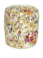 COINCASA Puff Ø43 cm (Multicolor)