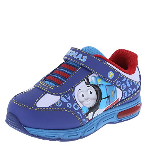 Thomas the Train Boys' Blue Boys' Toddler Thomas Runner 7 Regular (Thomas Train Shoes compare prices)