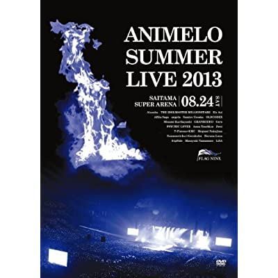 Animelo Summer Live 2013 -FLAG NINE-8.24 をAmazonでチェック!