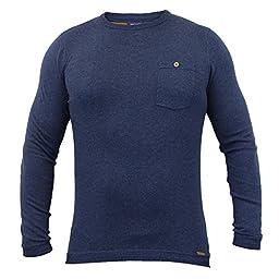 Men\'s Jumper Threadbare IMT055 Blue Large