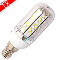 E14 8W led light bulbs SMD 3014 High power Led Corn Bulb AC 85-240V Warm White by MUMENG