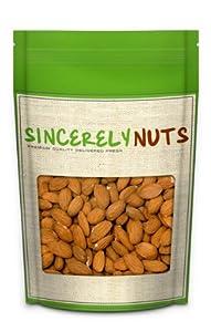 Raw Organic Almonds (1 Pound Bulk) - Sincerely Nuts