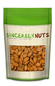 Raw Organic Almonds (1 Pound Bulk) - Sincerely Nuts