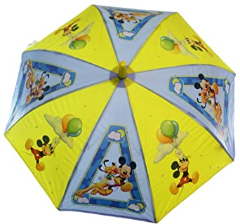 Disney Children Raingear - Mickey Mouse Umbrella for Kids