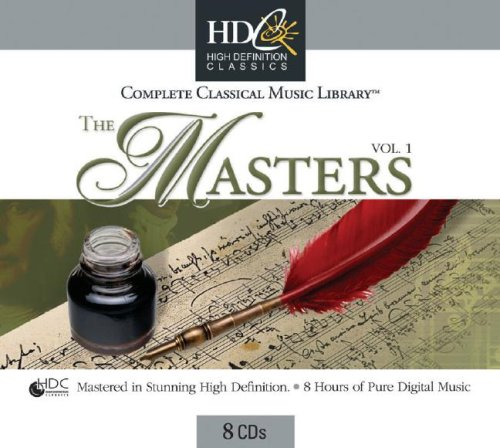 The Masters Vol. 1: Complete Classical Music Library with Other