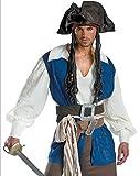 ハロウィンクリスマスコスチュームコスプレCosplay衣装変装仮装大人用メンズ男性用海賊女海賊?ジャック船長ジャックスパロウパイレーツオブカリビアン風パーティー服ディズニー衣裳生命の泉cos14(M)