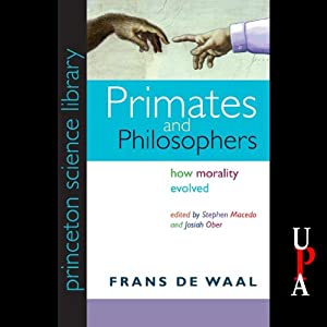 Primates and Philosophers Hörbuch