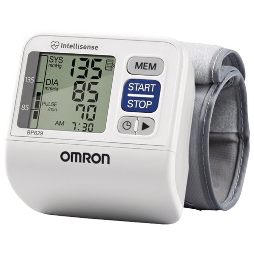Cheap OMRON BP629 3 SERIES WRIST BLOOD PRESSURE MONITOR OMRON BP629 3 SERIES WRIST BLOOD PRESSURE MONITOR (B00A35OAIK)