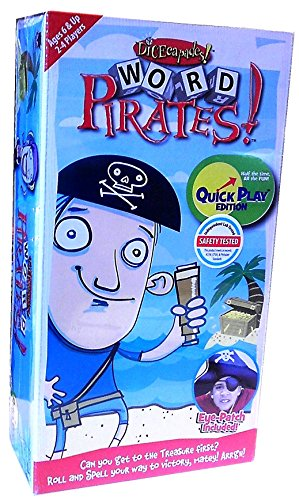 Word Pirates! Quick Play Edition (2009) Board Game - 1