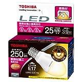東芝 E-CORE(イー・コア) LED電球 ミニクリプトン形 3.9W (光が広がるタイプ・断熱材施工器具対応・小形電球25W相当・250ルーメン・電球色) LDA4L-G-E17/S