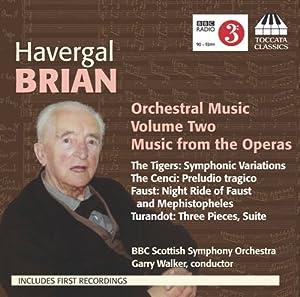 Brian Orchestral Music Vol 2 from Toccata Classics