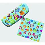 Hoot Owl Eyeglass Reading Glasses Hard Case w/ Matching Lens Cloth