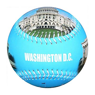Washington DC Gift and Souvenir Baseball