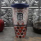 MLB Tervis Tumbler Detroit Tigers 24oz Polka Dot Wrap Tumbler with Lid