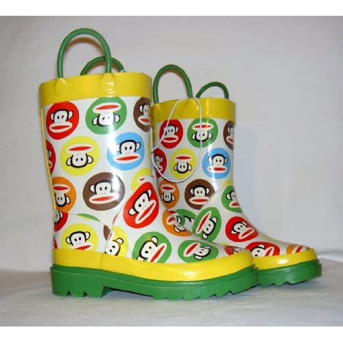 Amazon.com: Paul Frank Baby Toddler Boys Green Yellow Rain